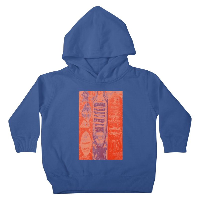FISH BATIK Kids Toddler Pullover Hoody by designsbydana's Artist Shop