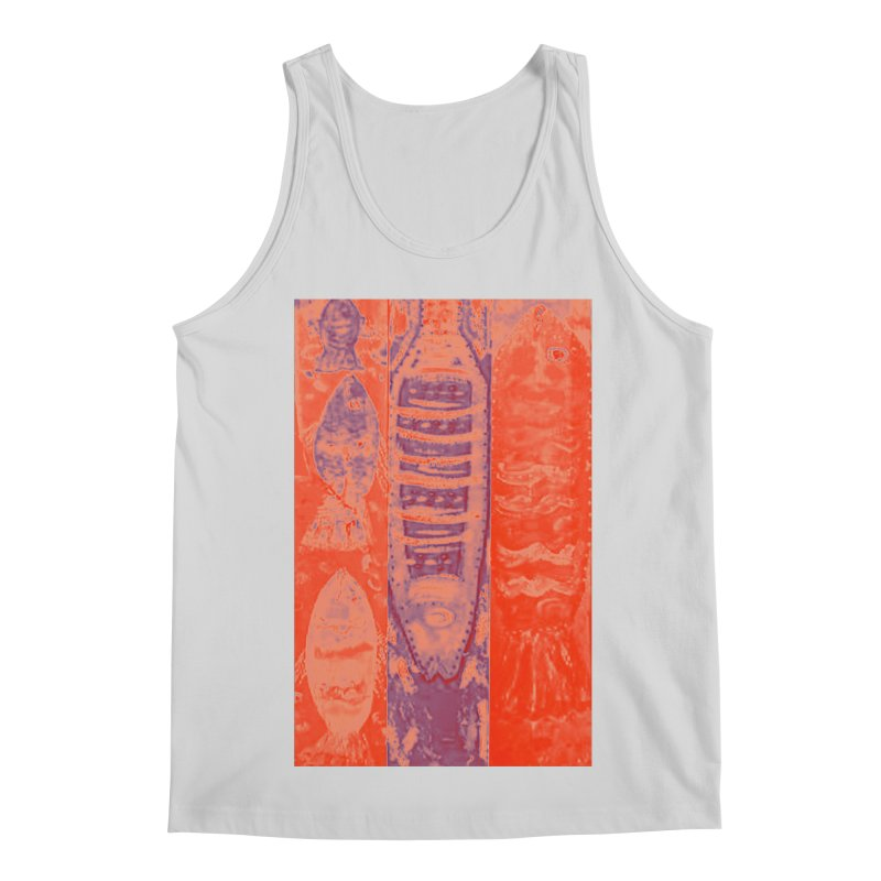 FISH BATIK Men's Regular Tank by designsbydana's Artist Shop