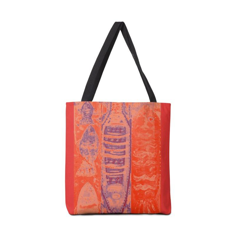FISH BATIK Accessories Bag by designsbydana's Artist Shop