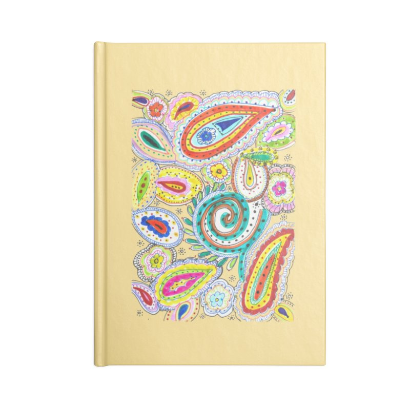 WILD Accessories Lined Journal Notebook by designsbydana's Artist Shop