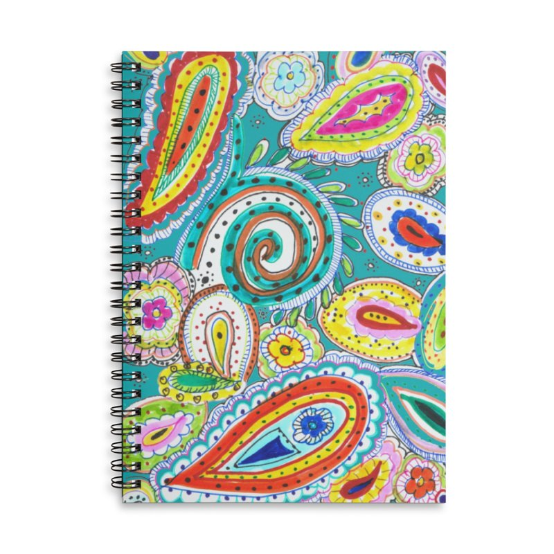 WILD Accessories Lined Spiral Notebook by designsbydana's Artist Shop