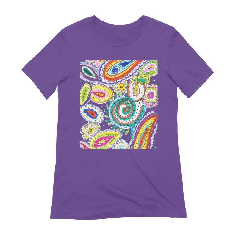 WILD Women's T-Shirt by designsbydana's Artist Shop
