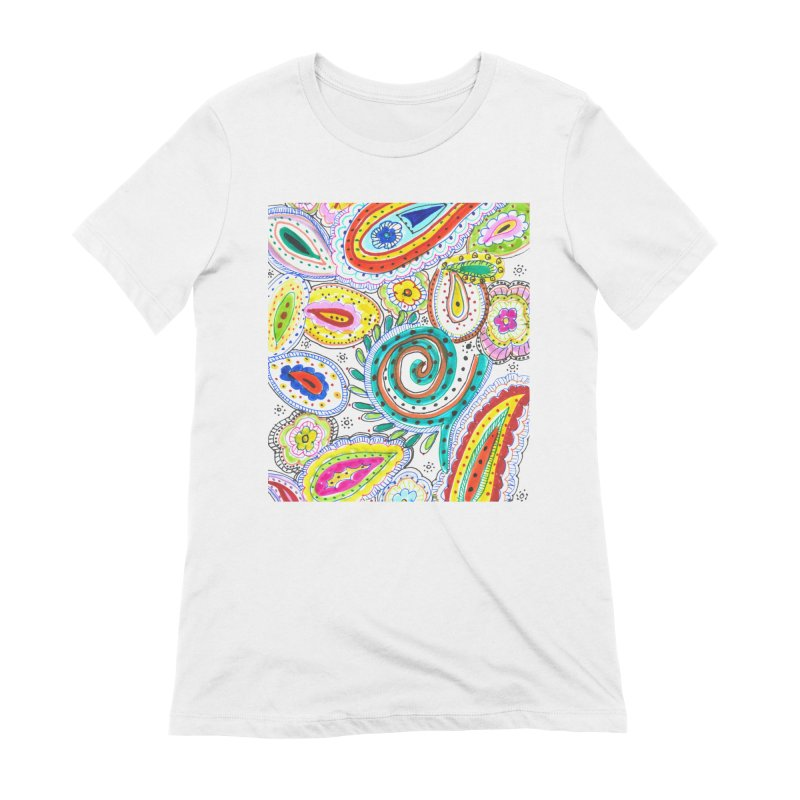 WILD Women's Extra Soft T-Shirt by designsbydana's Artist Shop