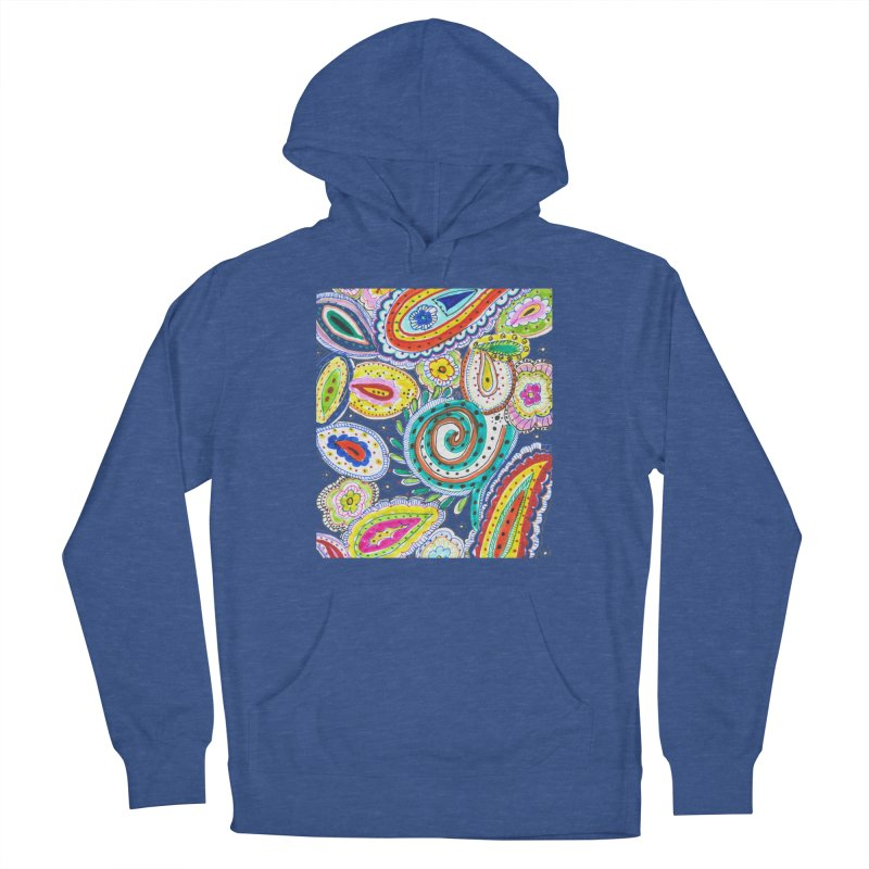 WILD Women's French Terry Pullover Hoody by designsbydana's Artist Shop