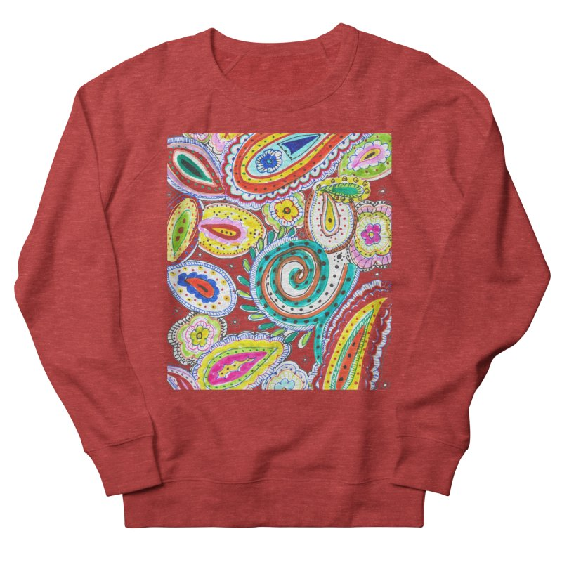WILD Women's French Terry Sweatshirt by designsbydana's Artist Shop