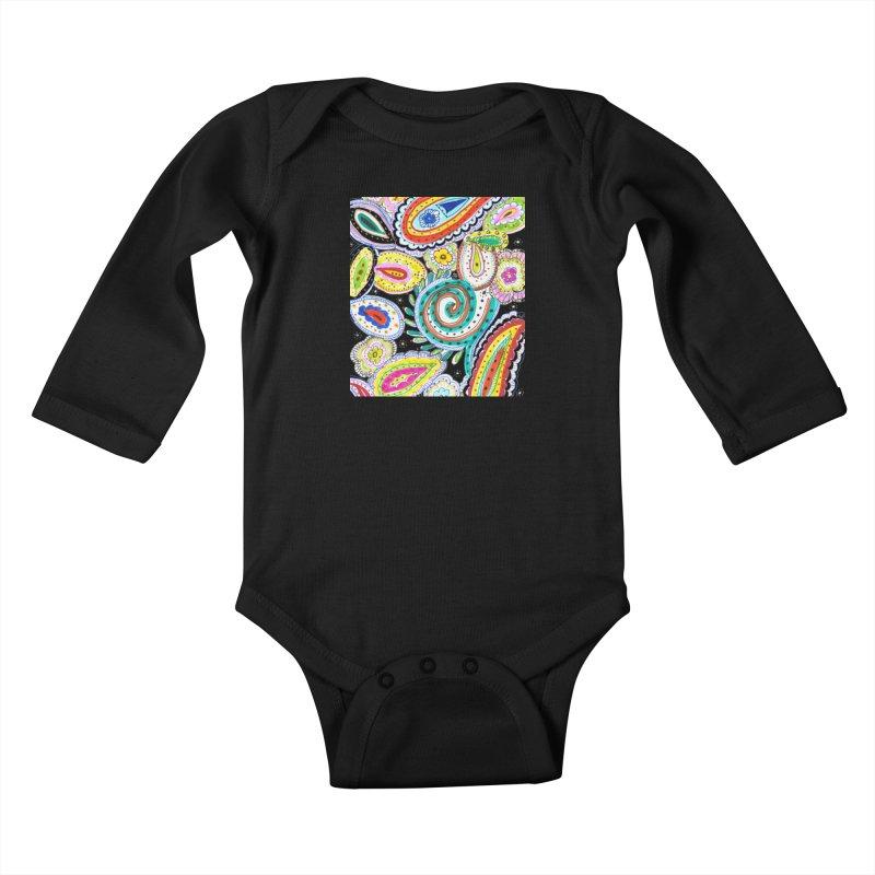 WILD Kids Baby Longsleeve Bodysuit by designsbydana's Artist Shop
