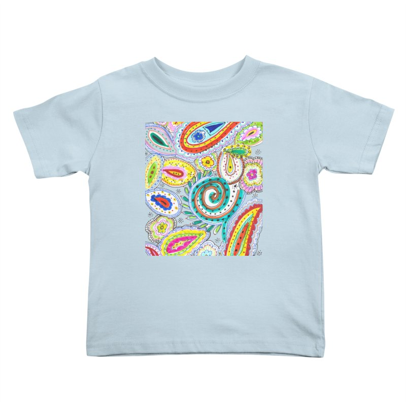 WILD Kids Toddler T-Shirt by designsbydana's Artist Shop