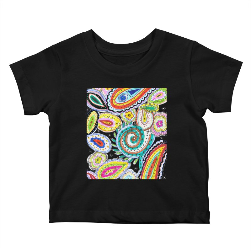 WILD Kids Baby T-Shirt by designsbydana's Artist Shop