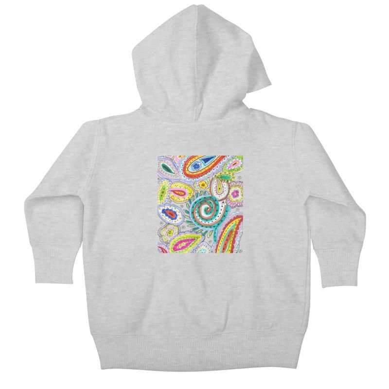 WILD Kids Baby Zip-Up Hoody by designsbydana's Artist Shop