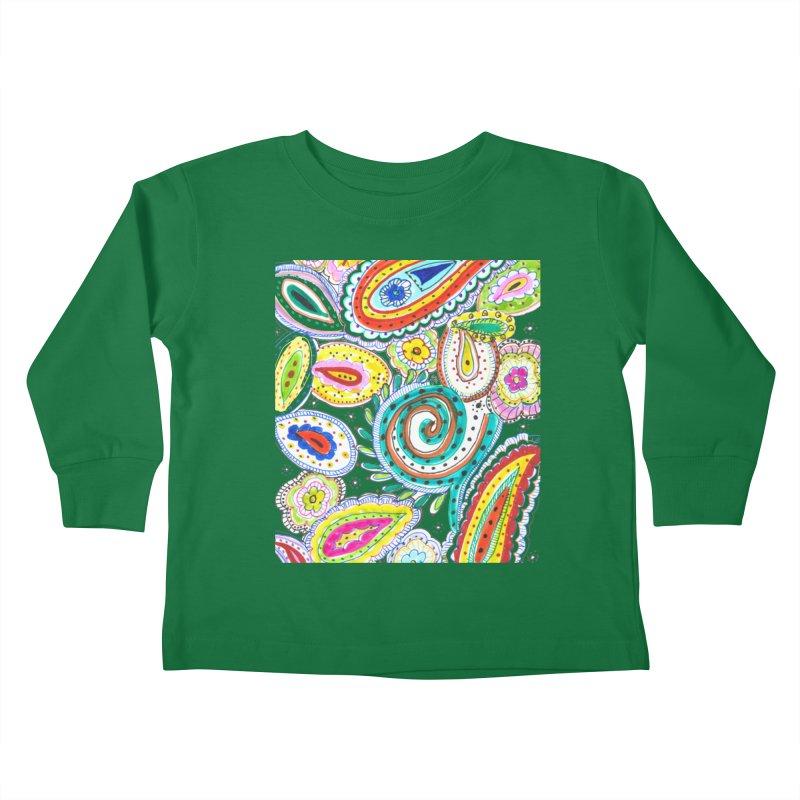 WILD Kids Toddler Longsleeve T-Shirt by designsbydana's Artist Shop