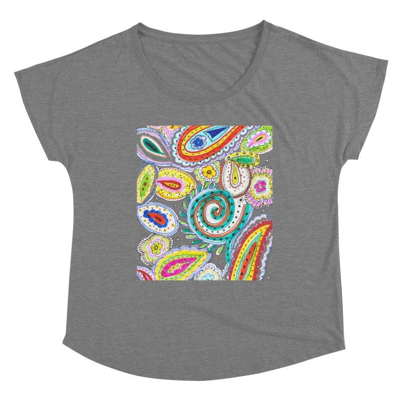 WILD Women's Scoop Neck by designsbydana's Artist Shop