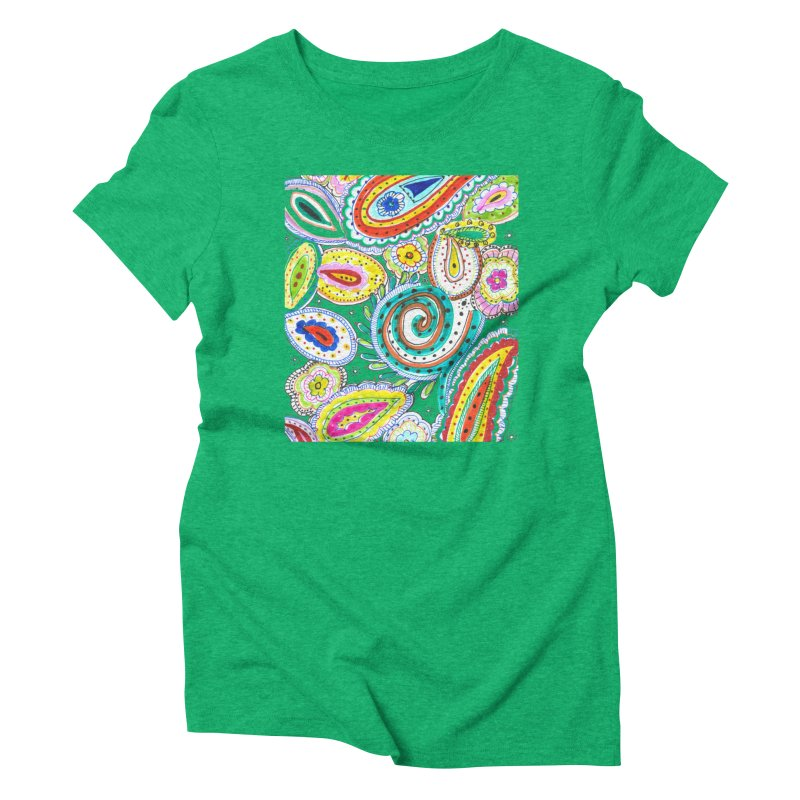 WILD Women's Triblend T-Shirt by designsbydana's Artist Shop