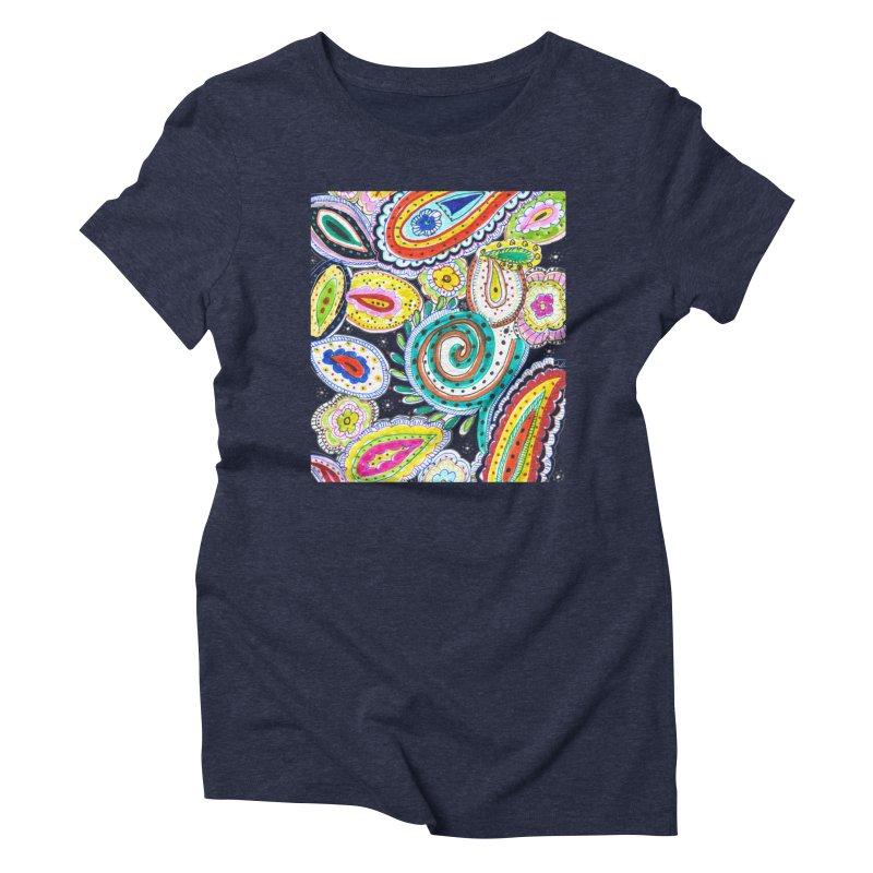 WILD Women's Triblend T-Shirt by designsbydana's Artist Shop