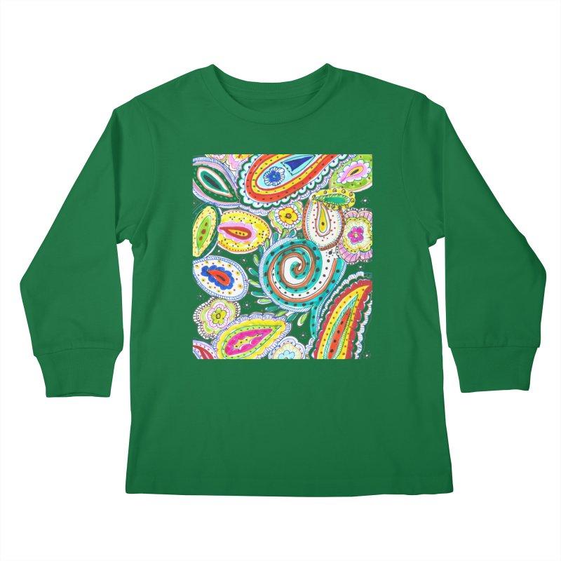 WILD Kids Longsleeve T-Shirt by designsbydana's Artist Shop