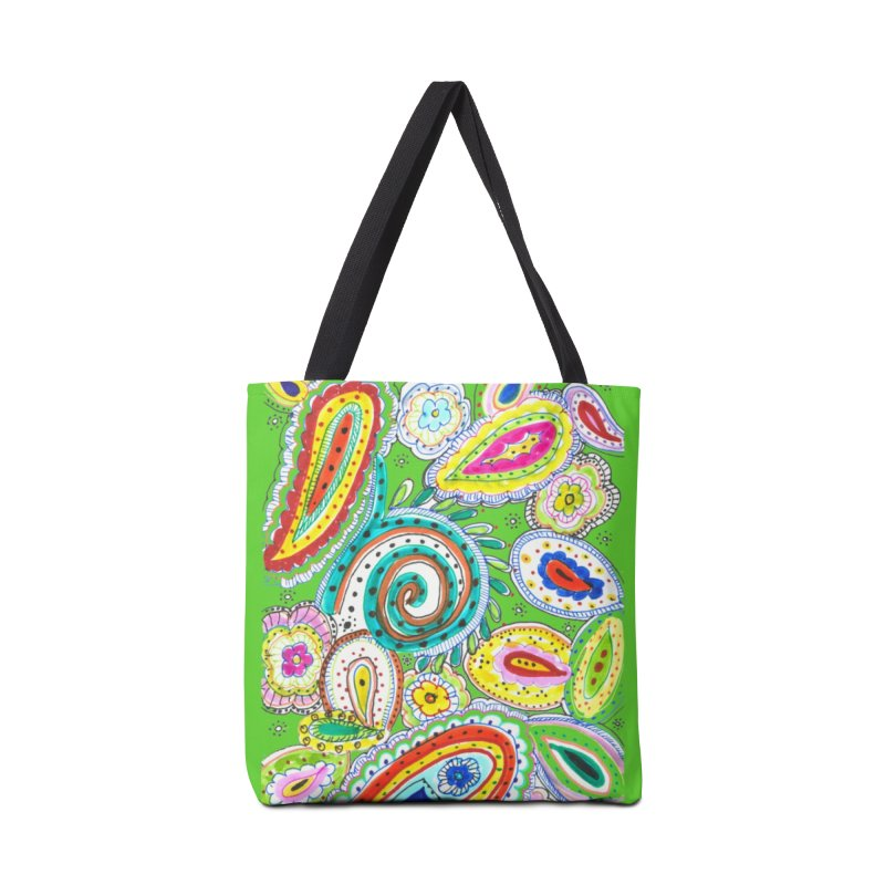 WILD Accessories Tote Bag Bag by designsbydana's Artist Shop