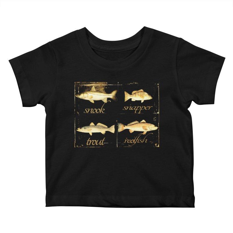 GRAND SLAM Kids Baby T-Shirt by designsbydana's Artist Shop
