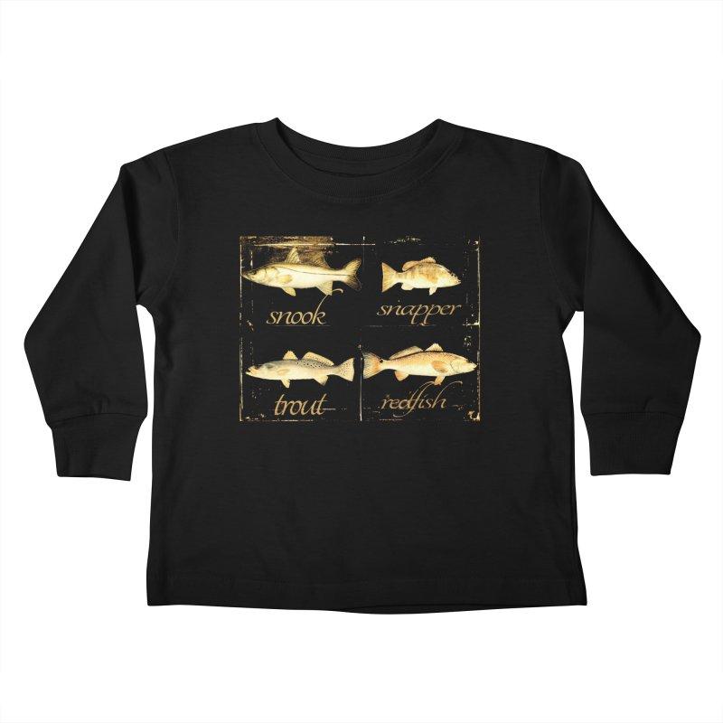 GRAND SLAM Kids Toddler Longsleeve T-Shirt by designsbydana's Artist Shop