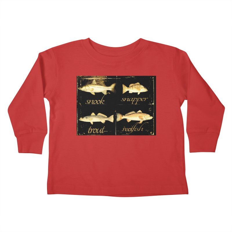 GRAND SLAM Kids Toddler Longsleeve T-Shirt by designsbydana's Artist Shop