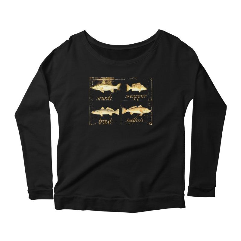 GRAND SLAM Women's Scoop Neck Longsleeve T-Shirt by designsbydana's Artist Shop