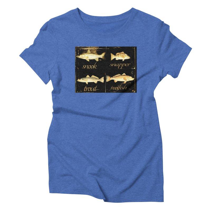 GRAND SLAM Women's Triblend T-Shirt by designsbydana's Artist Shop