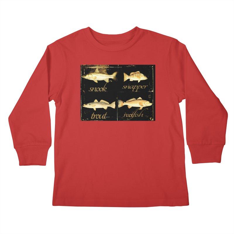 GRAND SLAM Kids Longsleeve T-Shirt by designsbydana's Artist Shop