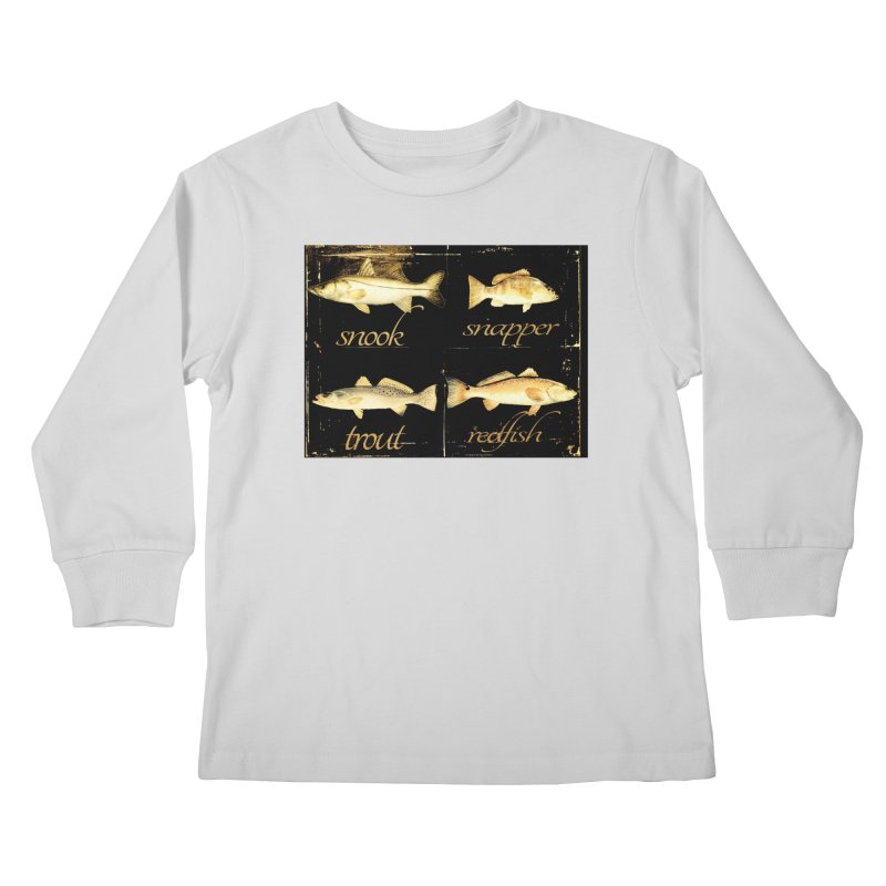 GRAND SLAM Kids Longsleeve T-Shirt by designsbydana's Artist Shop