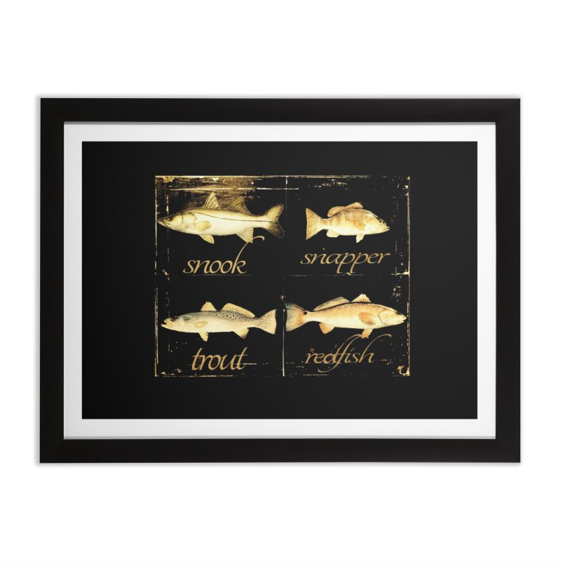 GRAND SLAM Home Framed Fine Art Print by designsbydana's Artist Shop