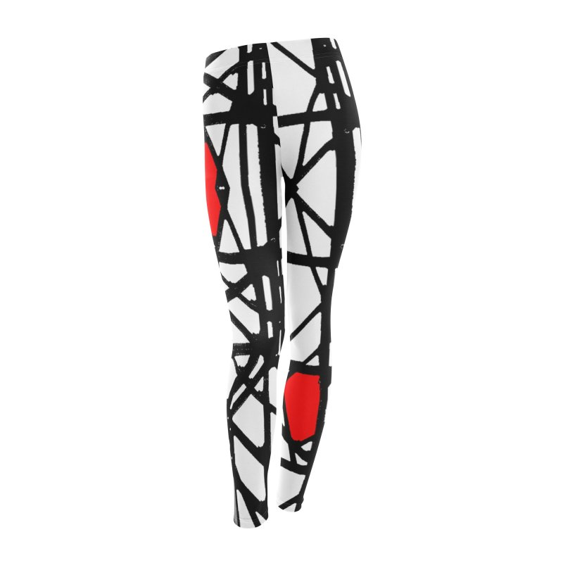 BK GEO Women's Leggings Bottoms by designsbydana's Artist Shop
