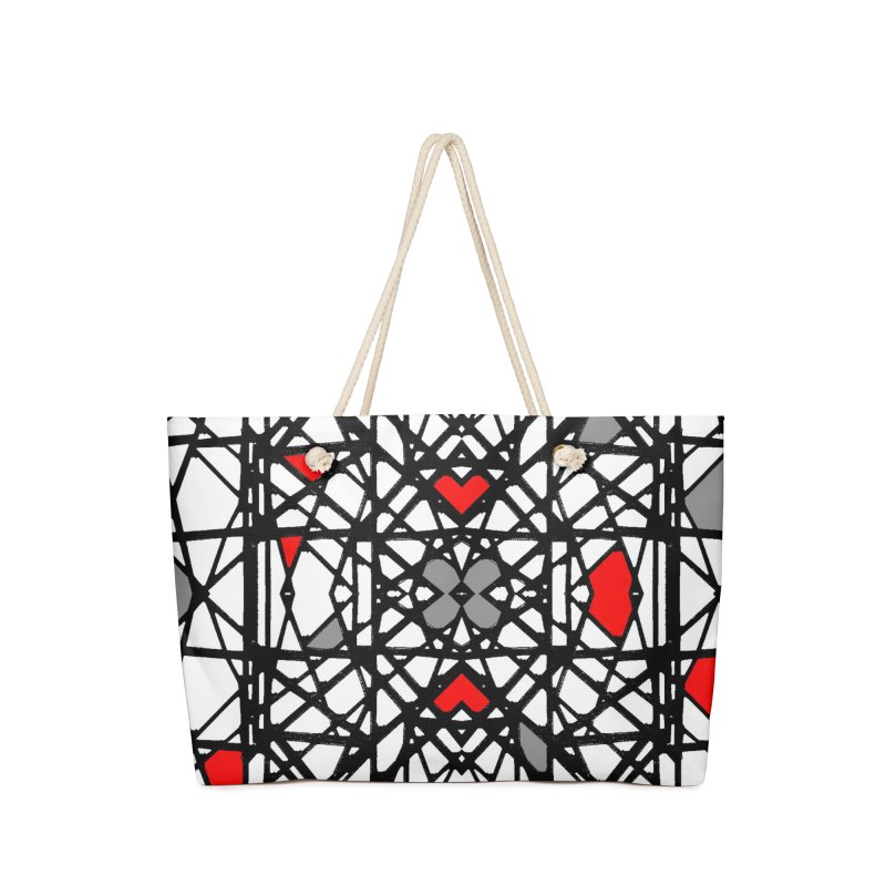BK GEO Accessories Weekender Bag Bag by designsbydana's Artist Shop
