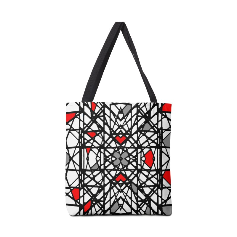 BK GEO Accessories Bag by designsbydana's Artist Shop