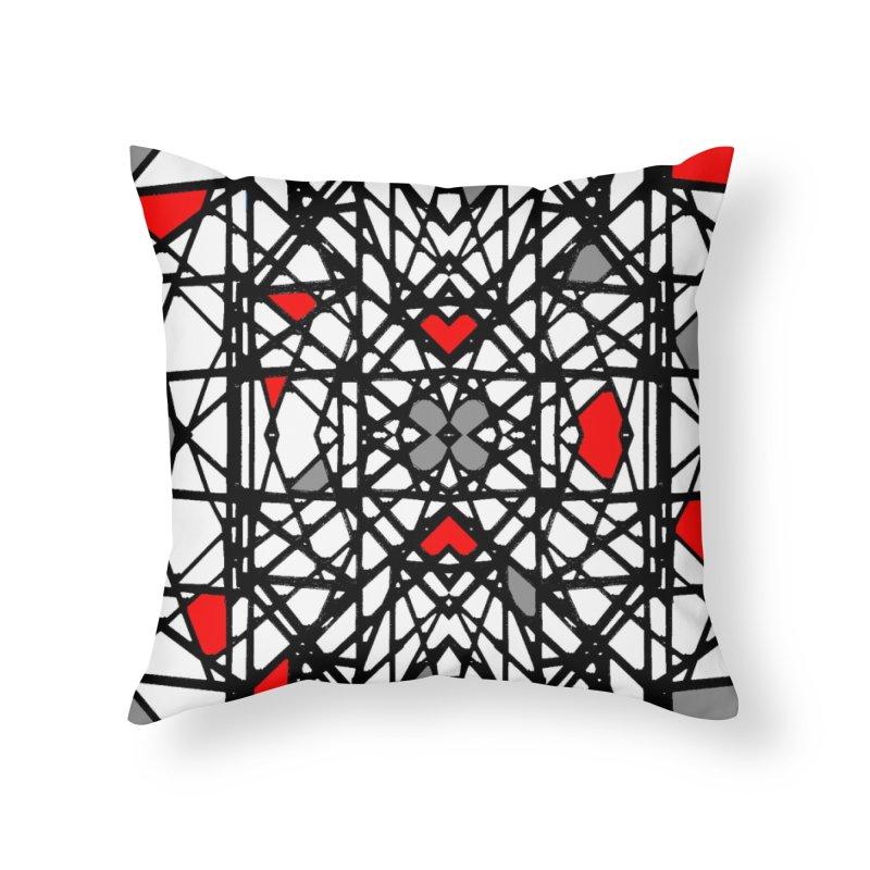 BK GEO Home Throw Pillow by designsbydana's Artist Shop
