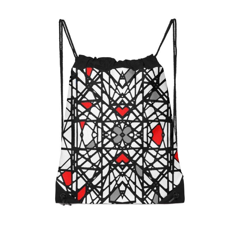 BK GEO Accessories Bag by designsbydana's Artist Shop