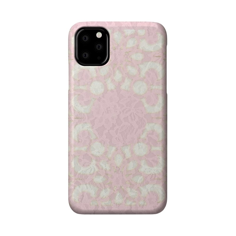 PINK LACE Accessories Phone Case by designsbydana's Artist Shop