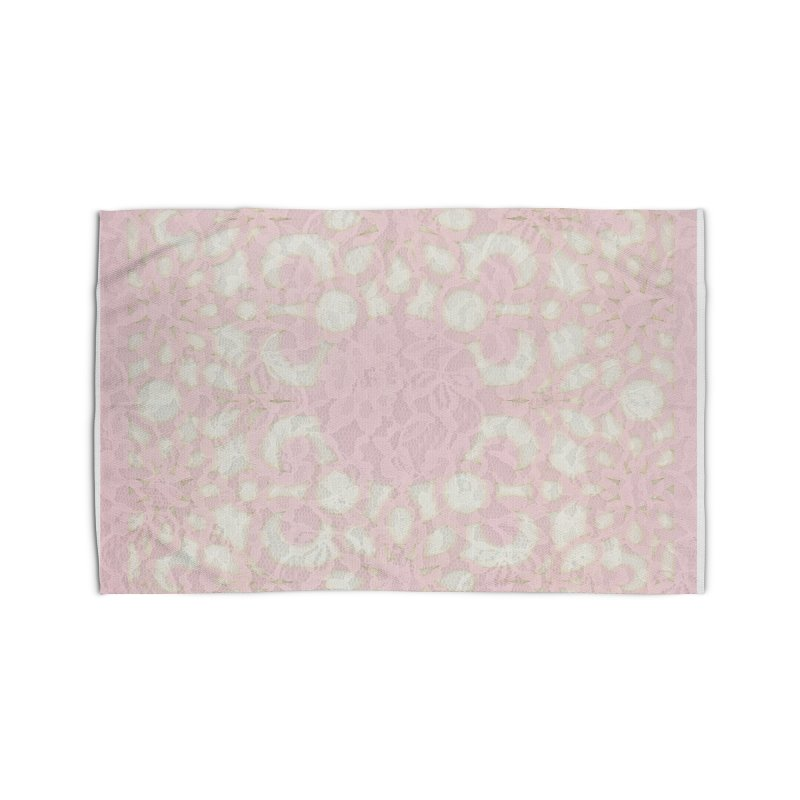 PINK LACE Home Rug by designsbydana's Artist Shop