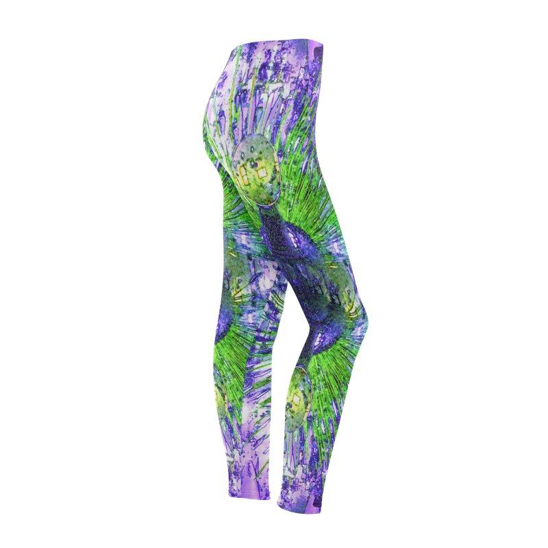 MOD PEACOCK Women's Bottoms by designsbydana's Artist Shop