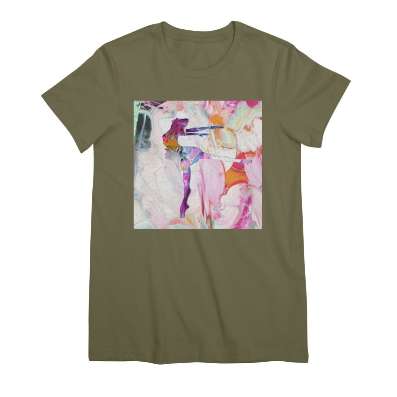 On Point Women's Premium T-Shirt by designsbydana's Artist Shop