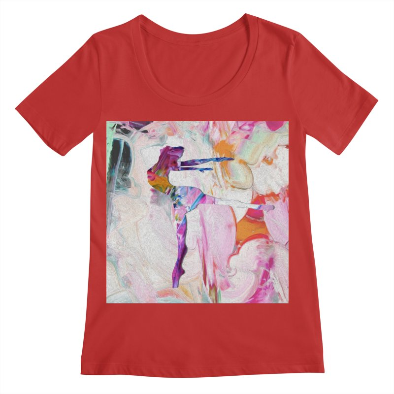On Point Women's Regular Scoop Neck by designsbydana's Artist Shop