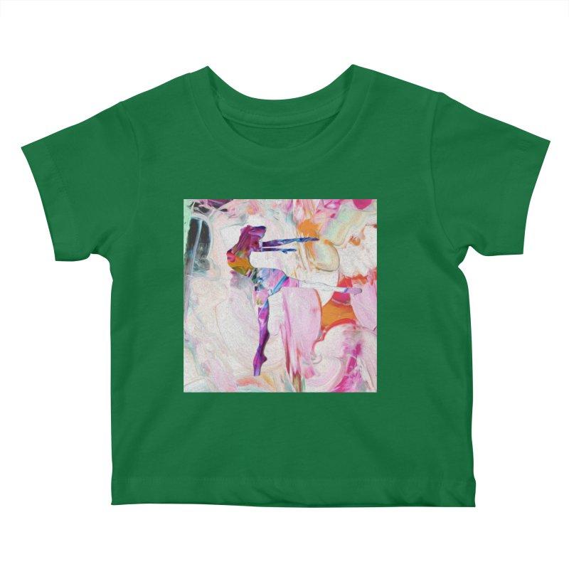 On Point Kids Baby T-Shirt by designsbydana's Artist Shop