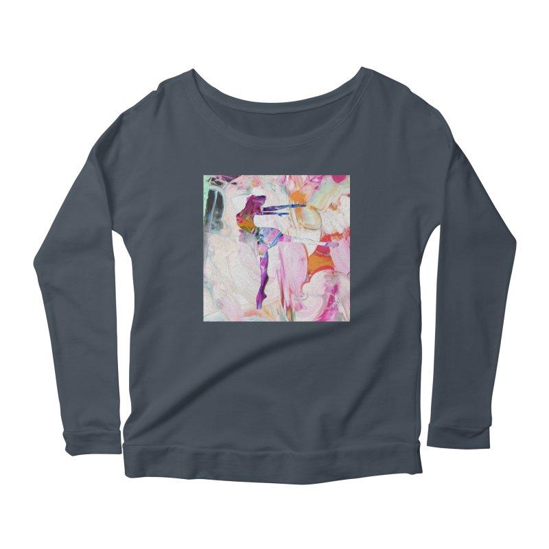 On Point Women's Scoop Neck Longsleeve T-Shirt by designsbydana's Artist Shop