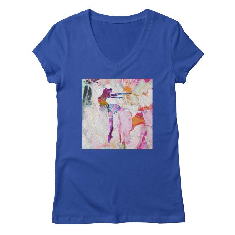 On Point Women's Regular V-Neck by designsbydana's Artist Shop