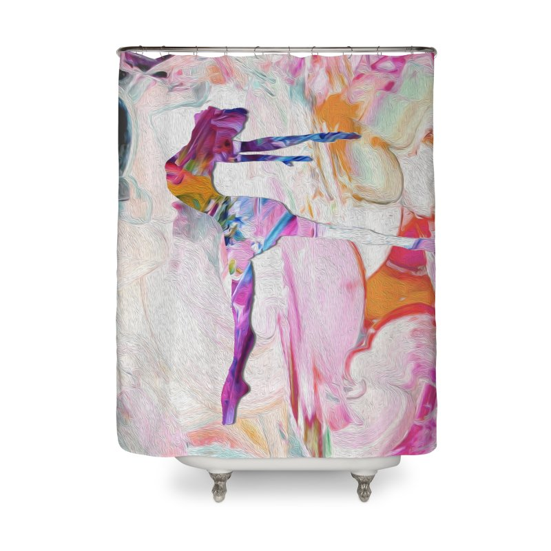 On Point Home Shower Curtain by designsbydana's Artist Shop