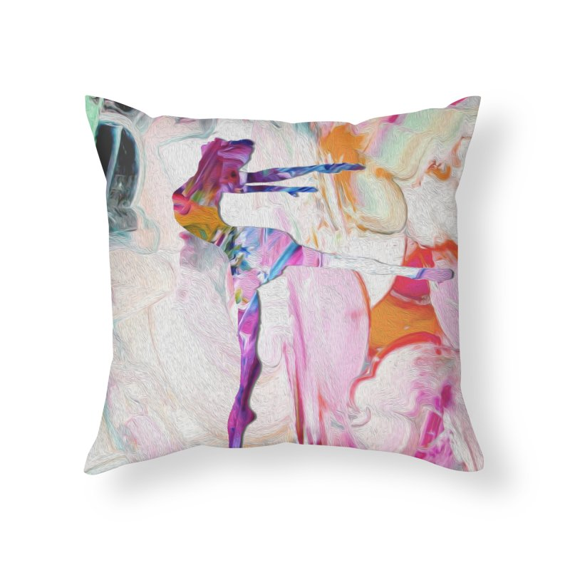 On Point Home Throw Pillow by designsbydana's Artist Shop