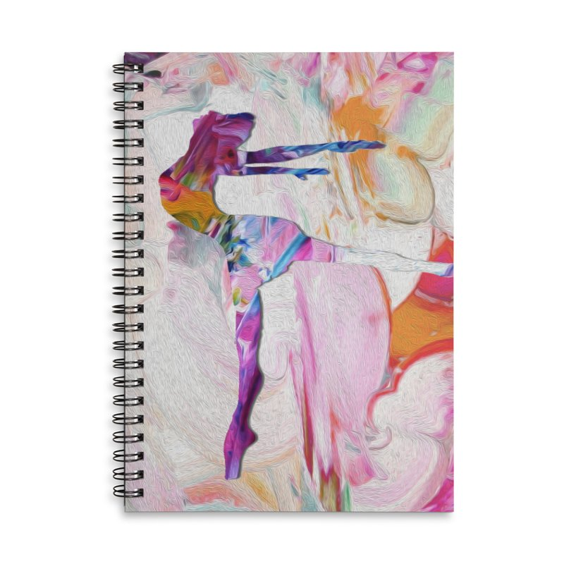 On Point Accessories Lined Spiral Notebook by designsbydana's Artist Shop