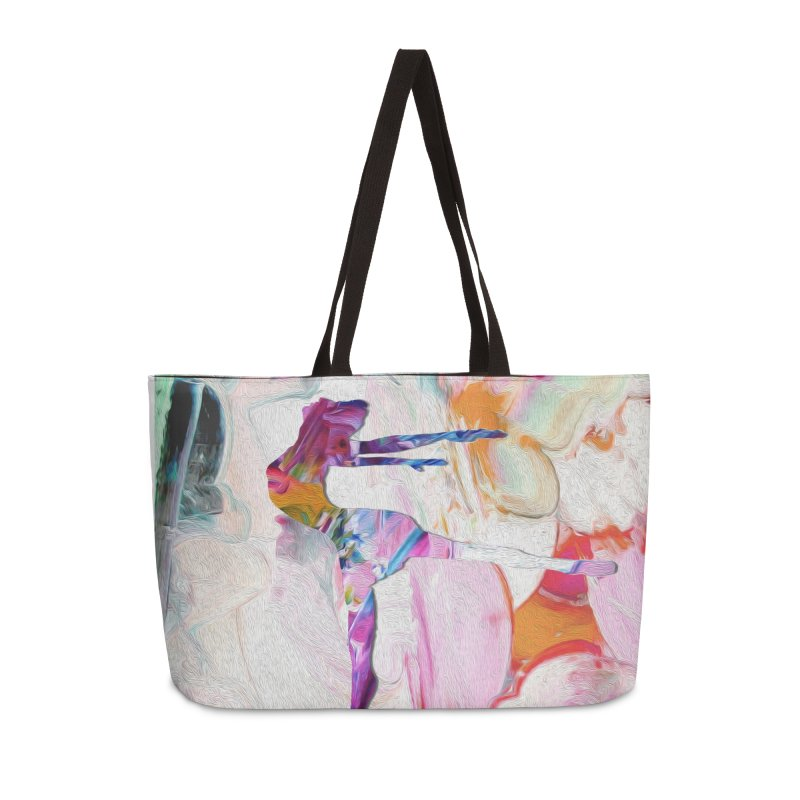 On Point Accessories Weekender Bag Bag by designsbydana's Artist Shop