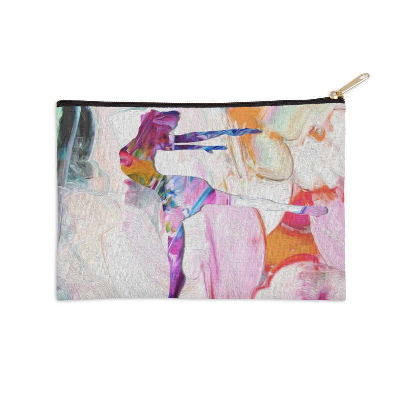 On Point Accessories Zip Pouch by designsbydana's Artist Shop
