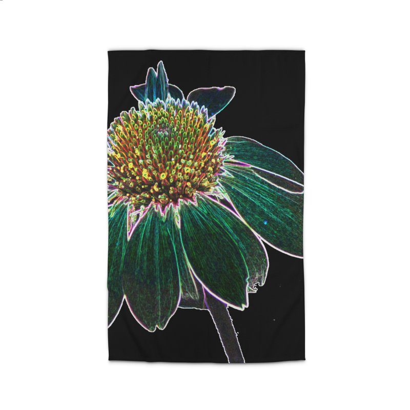 Glowing Bloom Home Rug by designsbydana's Artist Shop