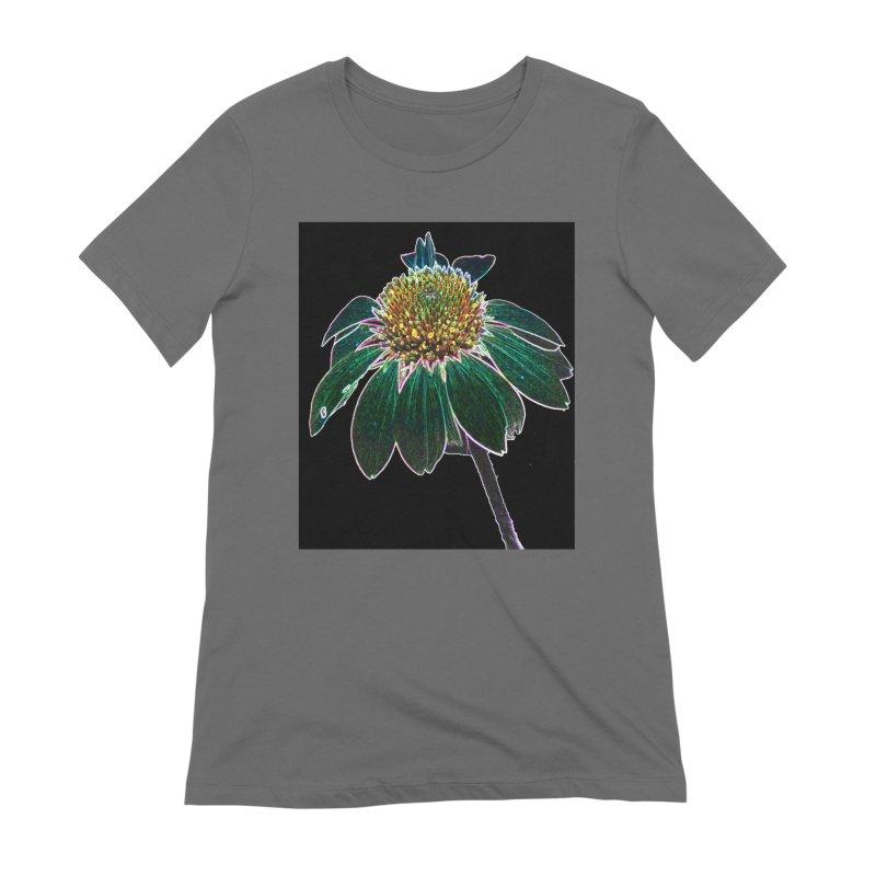 Glowing Bloom Women's T-Shirt by designsbydana's Artist Shop
