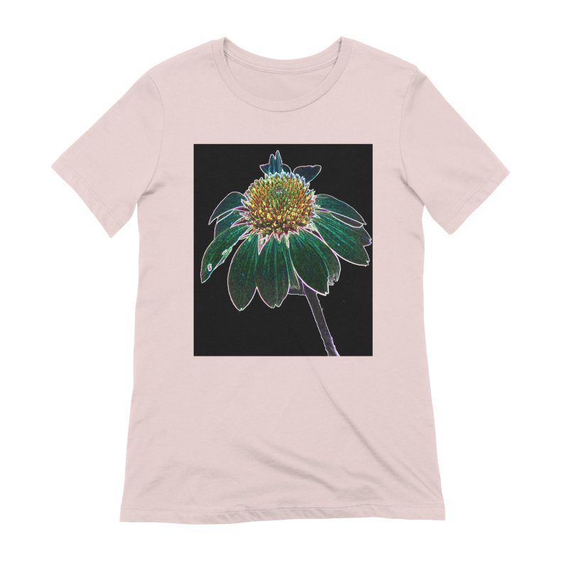 Glowing Bloom Women's Extra Soft T-Shirt by designsbydana's Artist Shop