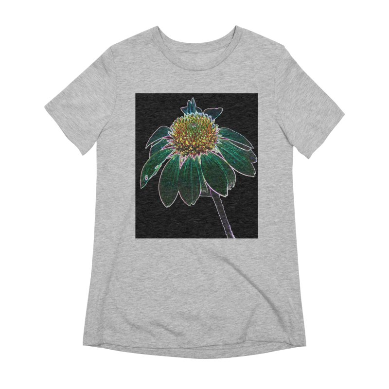 Glowing Bloom Women's T-Shirt by designsbydana's Artist Shop