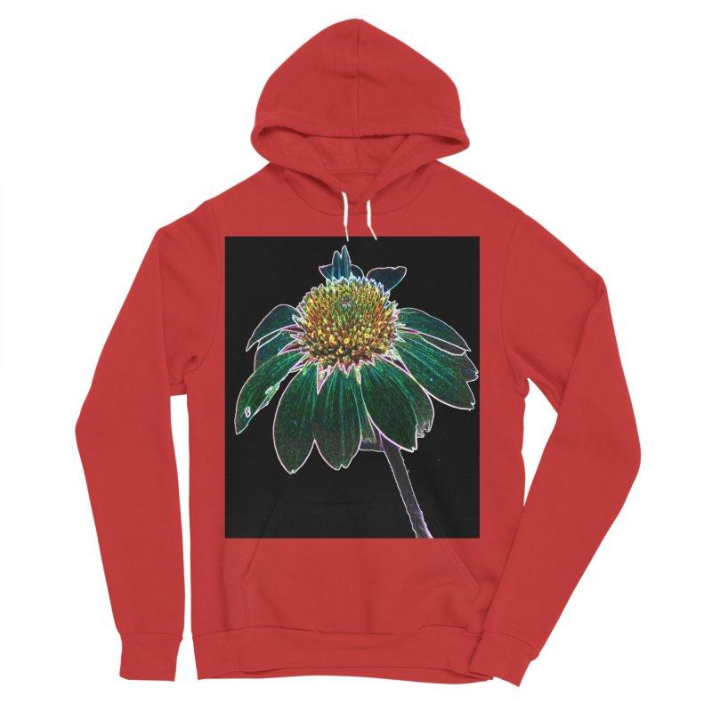 Glowing Bloom Women's Sponge Fleece Pullover Hoody by designsbydana's Artist Shop
